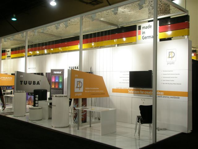 Exhibition Booth German : Trade show booth for german embassy u thinklightweight