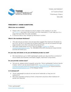 Image of Frequently Asked Questions PDF